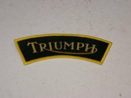 Wonderlijk opnaai embleem Triumph – De Groot BSA YD-15